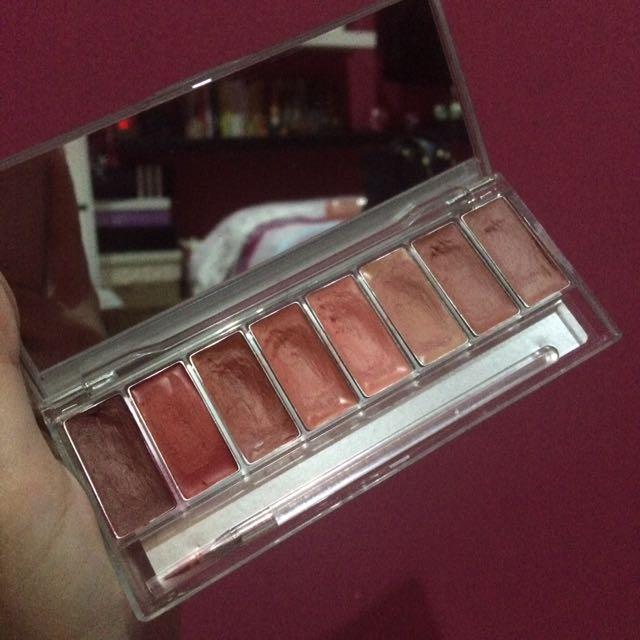 Wardah Chocoaholic Lip Palette