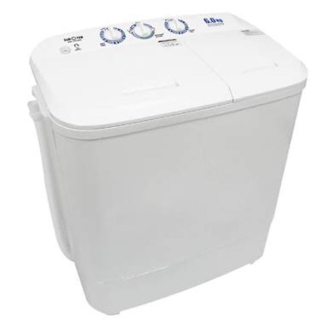 Washing Machine (Twin Tub, Model: ETW-608W)