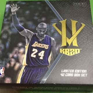 Kobe 42 Card Box set