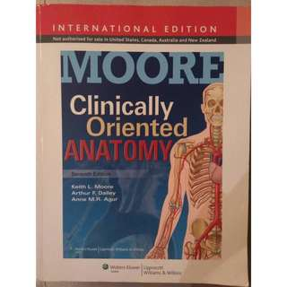 Moore Clinically Oriented Anatomy 7th Edition