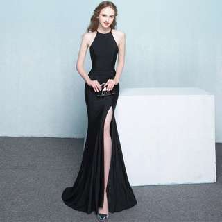 Black Elegant Prom Dress