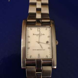 Authentic Kenneth Cole Classy Watch Not Fossil Anne Klein Swatch