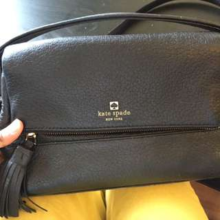 Black Kate Spade Purse Medium Size
