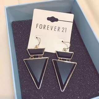 全新 Forever 21耳針式耳環