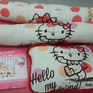 Hello Kitty Baby Pillow set