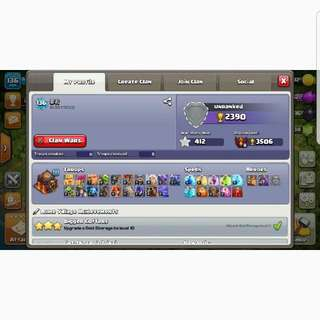 COC TH10 MAX WITH HIGH LVL HEROES