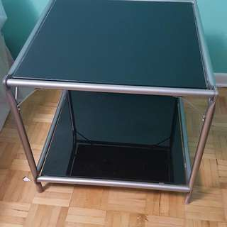 Ikea Glass Side Table