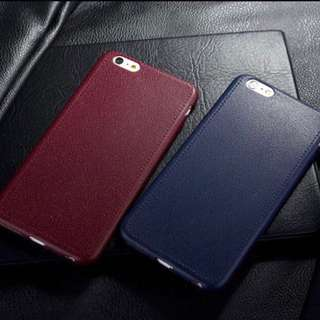 Business Retro Leather For iPhones