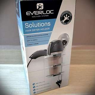 Suction Hair Dryer Holder (up To 15kg)