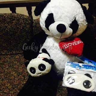 3.5ft Panda Stuff Toy