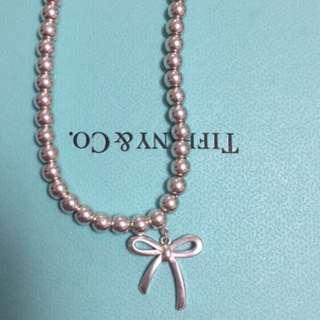 Tiffany 4mm Bow Bead Bracelet