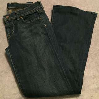 Citizens of Humanity - Ingrid #002 Stretch - Low Waist Flare Jeans - Size 28