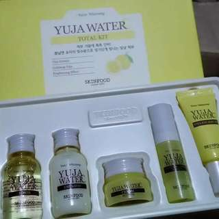 🌼🌼🌼Skinfood Yuja Water Total Kit🌼🌼🌼