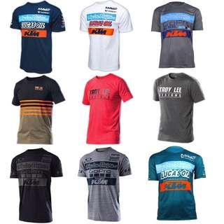 KTM/Troy Lee Designs/GoPro Jerseys