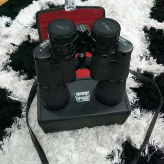 Rare !! Bushnell Vintage binoculars Auto fokus 20x50