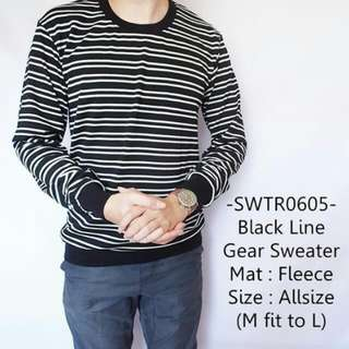 Black Line Gear Sweater
