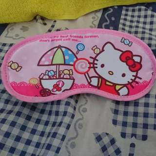 Hello kitty eye sleeping mask