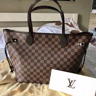 Authentic Preloved Neverfull MM