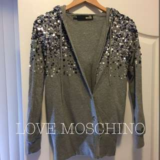 LOVE MOSCHINO Sequence Sweater Hoodie