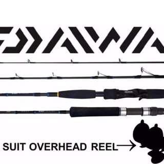 Daiwa Blast BJ66XHB Bay Jigging Model overhead fishing rod