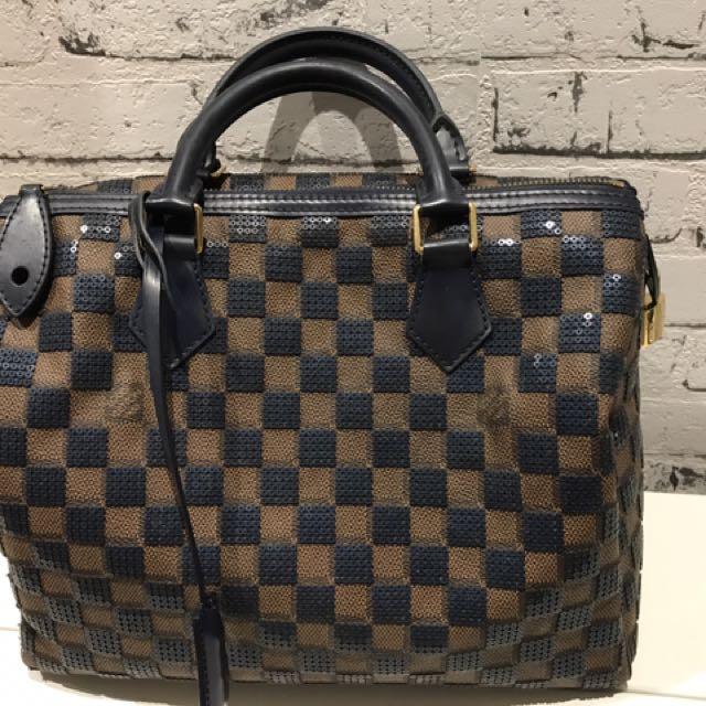 100% Authentic Louis Vuitton Speedy 30 DE Limited Edition 2013