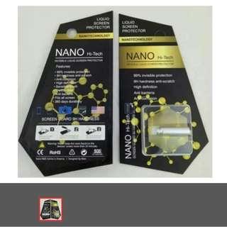 NANO HI-TECH Invisible Liquid Screen Protector. 9H Hardness Anti-Scratch. Latest Technology!