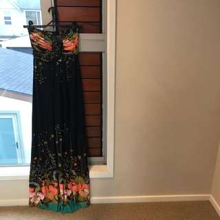 Boob Tube Maxi Dress