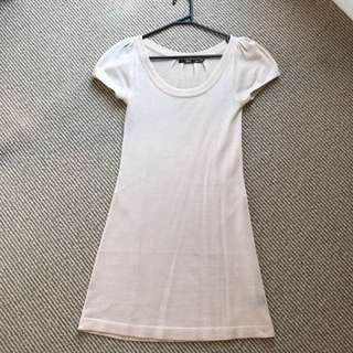 Light Pink Tshirt Dress