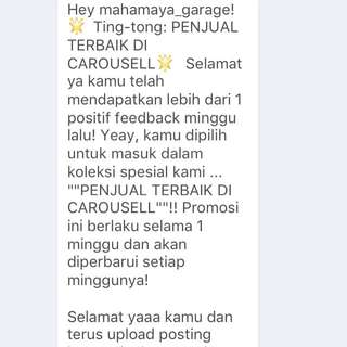 thanks carousell🎉🎊