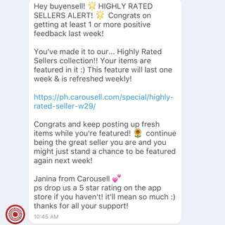 Thank U So Much Carousell! 🤗