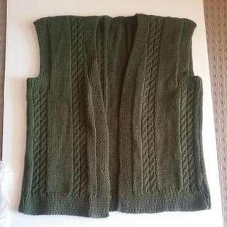 Unisex Hand Knitted Woollen Cardi