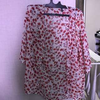 H&M Flower Outer