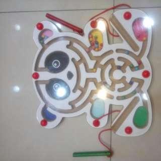 磁鐵迷宮 兒童手腦協調性訓練