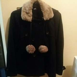 Dotti Jacket Size 10 With Hoodie