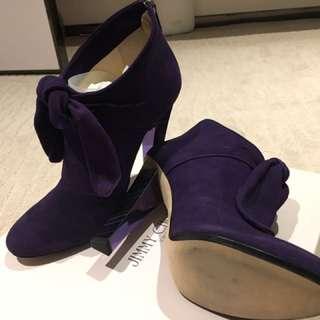 Jimmy Choo Suede Purple Heels