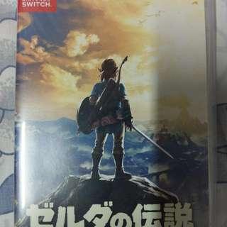 Switch Zelda 薩爾達傳說