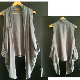 Grey Outer Vest