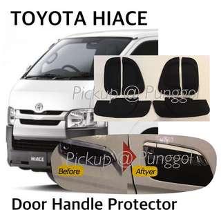 TOYOTA HIACE Van Door Handle Rubber Protector / Hiace Accessories