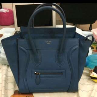 Celine Bag Micro Luggage 1:1 Leather Ori