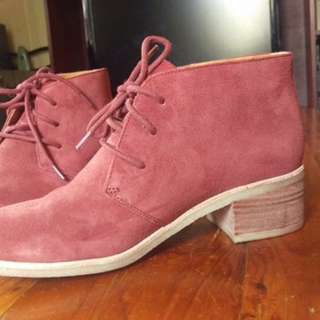Brand New Red Clarks Ankle Boots -