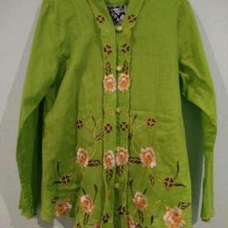 Baju Kebaya Sulam Kanak2