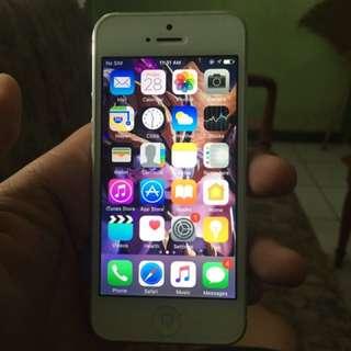 Iphone 5 32gb 4g Lte Kumplit