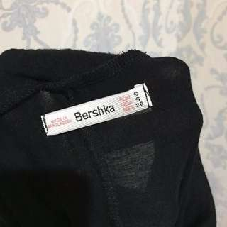 Bershka Side Slit Long Skirt