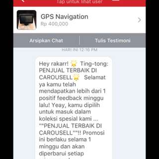 Thank You Carousell :)