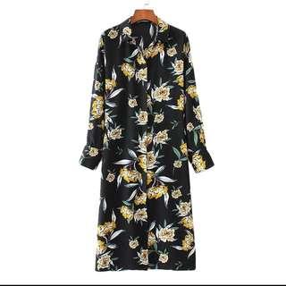 Long Kimono Floral