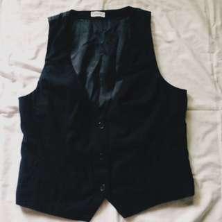 Black Formal Vest