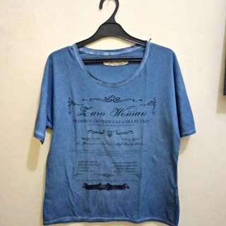 ZARA T-shirt (Premium Denim Collection)