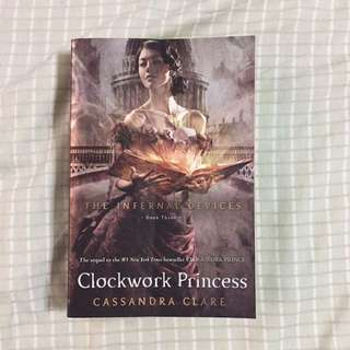 Clockwork Princess by Cassandra Clare (PB)