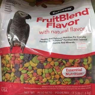 Pets' Gantry-New Stocks Of ZuPreem FruitBlend Flavor 3.5lb!