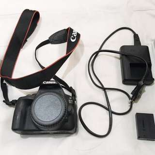 REPRICED!!! Canon 100D (body only)